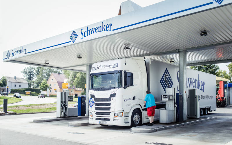 Schwenker Tankstelle in Neubulach